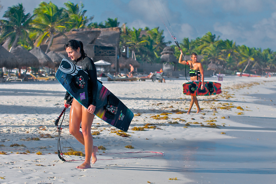 Fun & Fly Kitesurfing, Tulum, Mexico