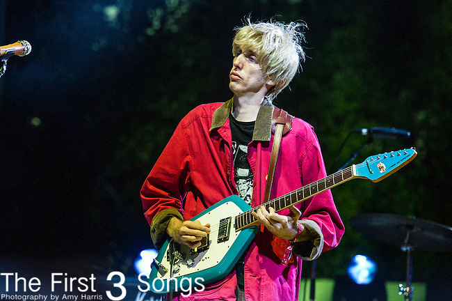 Bradford Cox of Deerhunter performs at the 2nd Annual BottleRock Napa Festival at Napa Valley Expo in Napa, California.