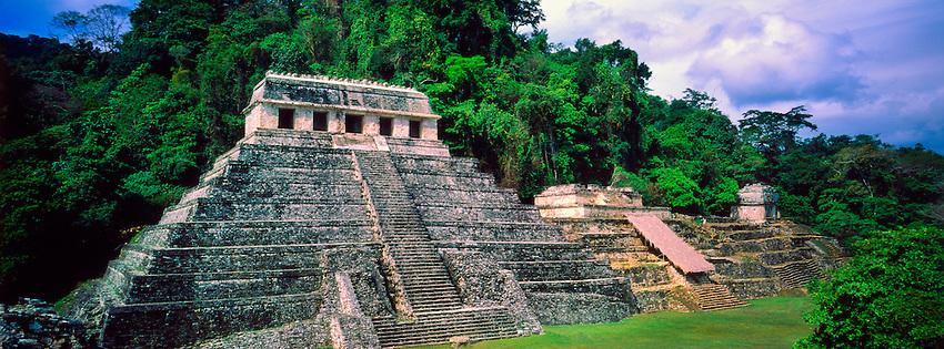 Palenque Archaeological Site, Chiapas, Mexico