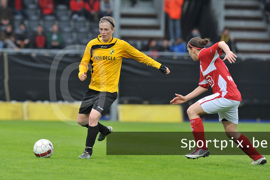 Bekerfinale 2012 : WD Lierse SK - Standard Femina :.Caroline Berrens.foto David Catry / Joke Vuylsteke / Vrouwenteam.be