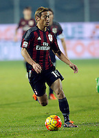 during   Italian Serie A soccer match between Frosinone and AC Milan  at Matusa  Stadium in Frosinone ,December 20  , 2015