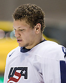 Kyle Okposo (USA - 9) - Team Russia defeated Team USA 4-2 on Saturday, January 5, 2008, at CEZ Arena in Pardubice, Czech Republic, to win the bronze at the 2008 World Juniors Championship.