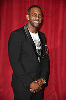 Richard Blackwood<br /> arrives for the British Soap Awards 2016 at Hackney Empire, London.<br /> <br /> <br /> &copy;Ash Knotek  D3124  28/05/2016
