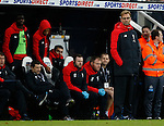 A downcast Jurgen Klopp manager of Liverpool reflects on the game - English Premier League - Newcastle Utd vs Liverpool - St James' Park Stadium - Newcastle Upon Tyne - England - 6th December 2015 - Picture Simon Bellis/Sportimage