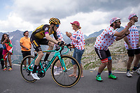 Steven Kruijswijk (NED/Jumbo Visma) up the Col du Galibier (HC/2622m/23km@5.1%)<br /> <br /> Stage 18: Embrun to Valloire (208km)<br /> 106th Tour de France 2019 (2.UWT)<br /> <br /> ©kramon