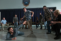 Tag (2018)  <br /> (Front L-R) JAKE JOHNSON as Randy &quot;Chilli&quot; Cilliano and ED HELMS as Hogan &quot;Hoagie&quot; Malloy <br /> *Filmstill - Editorial Use Only*<br /> CAP/MFS<br /> Image supplied by Capital Pictures