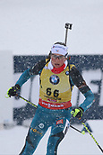 8th December 2017, Biathlon Centre, Hochfilzen, Austria; IBU Womens Biathlon World Cup; Justine Braisaz