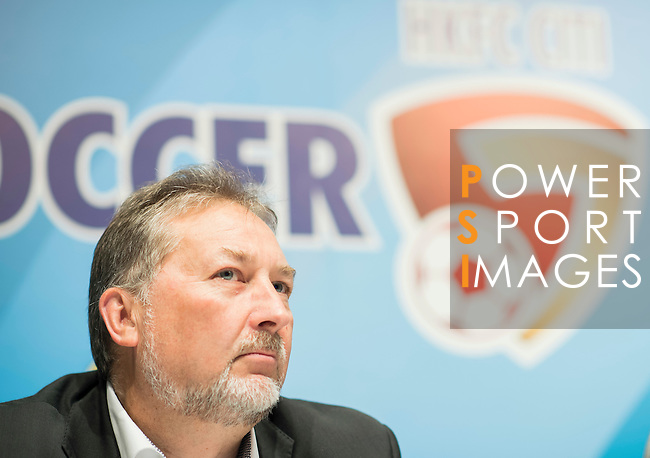 Chris Plowman, Tournament Director of HKFC Citi Soccer Sevens, attends the press conference for the HKFC Citi Soccer Sevens Hong Kong 2017 at the Hong Kong Football Club on 07 February 2017 in Hong Kong, China. Photo by Victor Fraile / Power Sport Images
