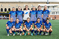 Boston, MA - Saturday July 01, 2017: Boston Breakers starting eleven during a regular season National Women's Soccer League (NWSL) match between the Boston Breakers and the Washington Spirit at Jordan Field.