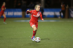 SALEM, VA - DECEMBER 3:Mariana Alisio (10) looks to pass during theDivision III Women's Soccer Championship held at Kerr Stadium on December 3, 2016 in Salem, Virginia. Washington St Louis defeated Messiah 5-4 in PKs for the national title. (Photo by Kelsey Grant/NCAA Photos)