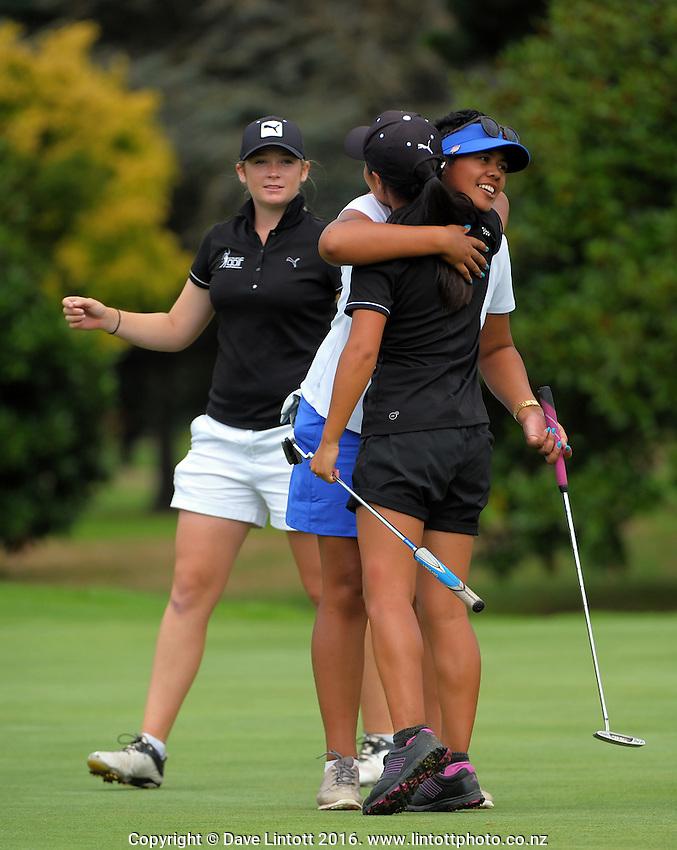 The final day of the Jennian Homes Charles Tour Lawnmaster Classic Manawatu Open at Manawatu Golf Club, Palmerston North, New Zealand on Saturday, 20 March 2016. Photo: Dave Lintott / lintottphoto.co.nz