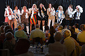 12/06/15<br /> <br /> Abbarettes - (L to R) Nuala Welsh, Sam Harrison, Lesley Hawkes, Lyndsey Miles, Linda Perry Smith, Helen Craven, Rona Myatt, Sally Archer, Becky Kimber.<br /> Clifton Village Cabaret Night - fundraising event for Clifton School and Church held in Clifton Village Hall on Friday 12th June.<br /> <br /> The event raised £1,140.<br /> <br /> All Rights Reserved: F Stop Press Ltd. +44(0)1335 418365 www.fstoppress.com.