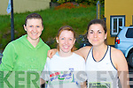 DINGLE RUN: Taking part in the Dingle Marathon on Saturday l-r: Shauna Griffin, Amanda Ronan and Veronica Suess.
