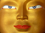 Buddha in Monastery, Close up