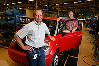 Think electrical car in Oslo, and production line in Aurskog.
