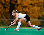 25 October 2009: University of Vermont Catamount forward Holly Davis, a Sophomore from Greene, NY, in action against the Columbia University Lions at Moulton Winder Field in Burlington, Vermont. The Lions shut out the Catamounts 1-0. Mandatory Credit: Ed Wolfstein Photo
