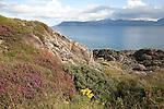 Isle of Arran from Kintyre in Scotland