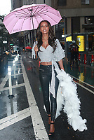 NEW YORK, NY - AUGUST 29:  Jasmine Tookes attends fittings for the Victoria's Secret 2017 Fashion Show on August 29, 2017 in New York City. Credit: DC/Media Punch
