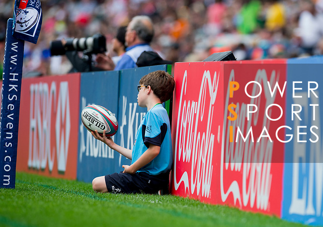 Action on Day 2 of the Cathay Pacific / HSBC Hong Kong Sevens 2013 on 23 March 2013 at Hong Kong Stadium, Hong Kong. Photo by Aitor Alcalde / The Power of Sport Images
