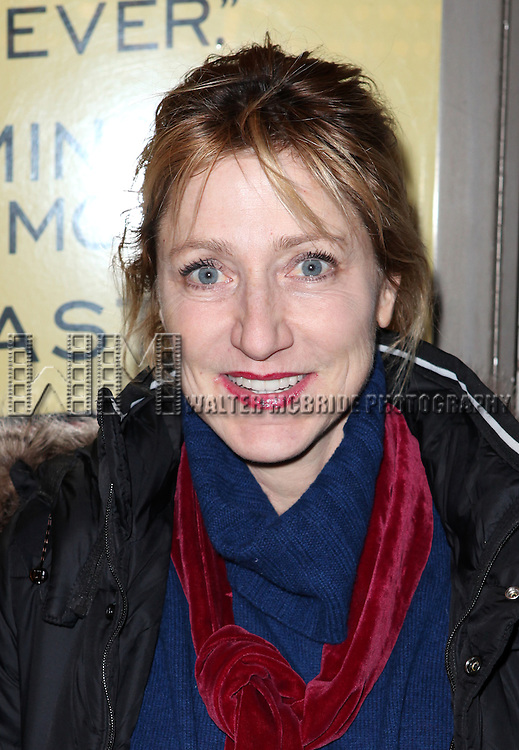 Edie Falco attending the Opening Night Performance of the Manhattan Theatre Club's 'The Other Side' at the Samuel J. Friedman Theatre in New York City on 1/10/2013