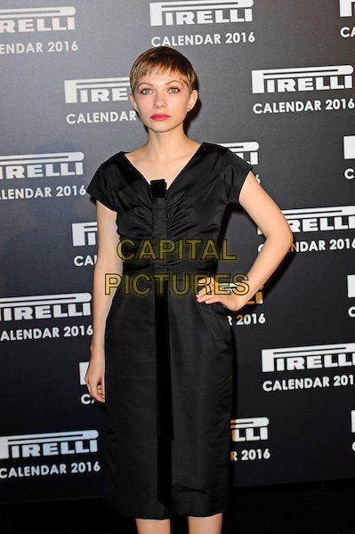 LONDON, ENGLAND - NOVEMBER 30: Tavi Gevinson attending Gala Evening To Celebrate The Pirelli Calendar 2016 By Annie Leibovitz at Camden Roundhouse on November 30, 2015 in London, England.<br /> CAP/MAR<br /> &copy; Martin Harris/Capital Pictures