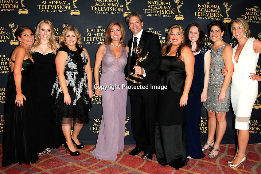 LOS ANGELES - APR 24: Marilyn Milian, David Scott at The 42nd Daytime Creative Arts Emmy Awards Gala at the Universal Hilton Hotel on April 24, 2015 in Los Angeles, California