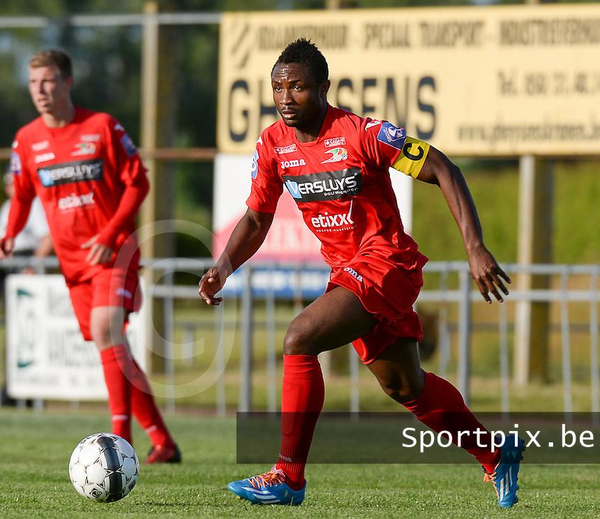 KV Oostende : Sebastien Siani <br /> foto VDB / BART VANDENBROUCKE
