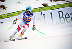December 1, 2017:  Switzerland's, Patrick Kueng #58, crosses the finish of the Super G competition during the FIS Audi Birds of Prey World Cup, Beaver Creek, Colorado.