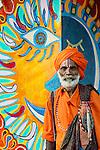 Sannyasin, Goa, India