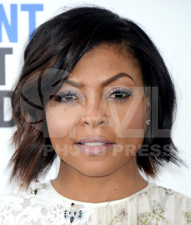 SANTA MONICA, 25.02.20-17 - SPIRIT-AWARDS - Taraji P. Henson durante Film Independent Spirit Awards em Santa Monica na California nos Estados Unidos (Foto: Gilbert Flores/Brazil Photo Press)