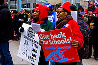 Chicago Teachers Union Rally 3-26-15