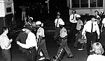 Police arrest marchers who refused to dispurse during a series of protest marches from Black neighborhood toward State Capitol in Montgomery, Ala, photographed by Jim Peppler for essay in The Southern Courier published June 24, 1967. Photo copyrighted Jim Peppler/1967 This and over 10,000 other images are part of the Jim Peppler Collection at The Alabama Department of Archives and History:  http://digital.archives.alabama.gov/cdm4/peppler.php