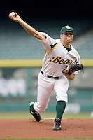 Starting pitcher Shawn Tolleson #33 of the Baylor Bears in action versus the Houston Cougars  in the 2009 Houston College Classic at Minute Maid Park February 27, 2009 in Houston, TX.  The Bears defeated the Cougars 3-2. (Photo by Brian Westerholt / Four Seam Images)