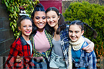 Kyla Shine, Ciara Samy, Mairead McCarthy and Abigail Foley, pictured at Bryan Carr School of Performing Arts annual Christmas Show 'Kris Kringle Christmas', held at Siamsa Tire, Tralee on Sunday afternoon last.