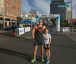 Rhys and Roberto Ferrito during the 2nd Annual Reno Mile in downtown Reno on Saturday, Sept. 7, 2019.