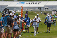 Sergio Garcia (ESP) makes his way to 3 during round 2 of the AT&amp;T Byron Nelson, Trinity Forest Golf Club, at Dallas, Texas, USA. 5/18/2018.<br /> Picture: Golffile | Ken Murray<br /> <br /> <br /> All photo usage must carry mandatory copyright credit (&copy; Golffile | Ken Murray)