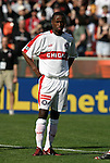 24 April 2004: DaMarcus Beasley during player introductions. The Chicago Fire defeated DC United 1-0 at RFK Stadium in Washington, DC on opening day of the regular season in a Major League Soccer game..