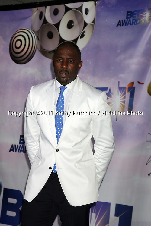 LOS ANGELES - JUN 26:  Idris Elba in the Press Room at the 11th Annual BET Awards at Shrine Auditorium on June 26, 2004 in Los Angeles, CA