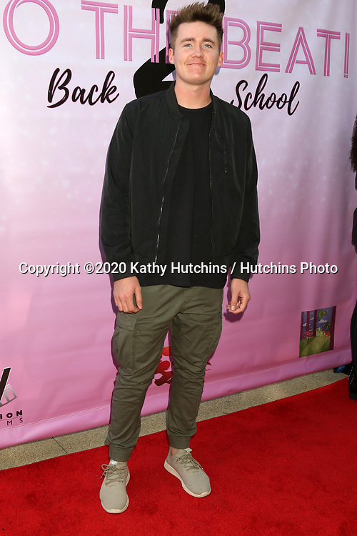 """LOS ANGELES - MAR 8:  Brennan Bailey at the """"To the Beat! Back 2 School"""" World Premiere Arrivals at the Laemmle NoHo 7 on March 8, 2020 in North Hollywood, CA"""