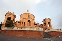 Il Santuario della Madonna di San Luca a Bologna.<br /> The sanctuary of the Madonna di San Luca in Bologna.<br /> UPDATE IMAGES PRESS/Riccardo De Luca