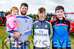 Aidan and Molly Mea O&rsquo;Connor, Daire and Josh Keane  <br /> attending the O'Riadas Vintage &amp; Family Fun Day in Ballymac on Sunday.
