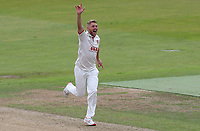 Jamie Porter of Essex appeals for a wicket during Warwickshire CCC vs Essex CCC, Specsavers County Championship Division 1 Cricket at Edgbaston Stadium on 10th September 2019
