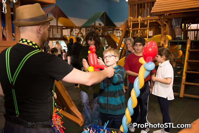 St. Louis Magazine family event at Dream Play in Chesterfield, MO on April 3, 2014.