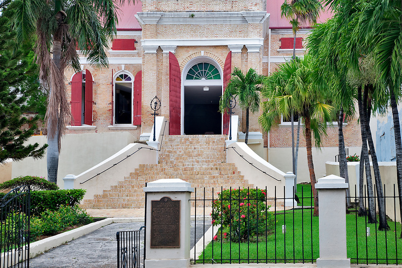 Frederick Lutheran Church in Charlotte Amalle. St. Thomas. US Virgin Islands