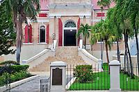 Frederick Lutheran Church in Charlotte Amalle. St. Thomas. US Virgin Islands