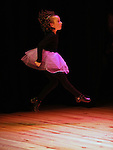Niamh McGuinness dancing at the Campbell Academy of Dance show at Droichead Ards Centre. Photo: Colin Bell/pressphotos.ie