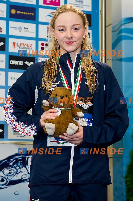 Cain Emma GBR<br /> 200 Breaststroke Women Final Bronze Medal<br /> LEN 43rd Arena European Junior Swimming Championships<br /> Hodmezovasarhely, Hungary <br /> Day03 08-07-2016<br /> Photo Andrea Masini/Deepbluemedia/Insidefoto