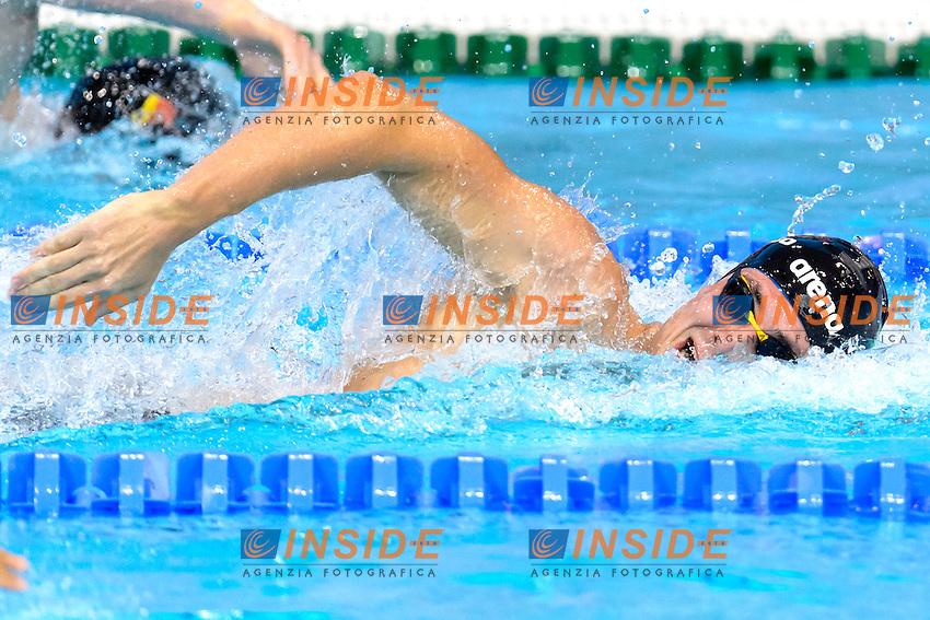 Andrea MITCHELL D ARRIGO ITA <br /> 200m Freestyle Men <br /> London, Queen Elizabeth II Olympic Park Pool <br /> LEN 2016 European Aquatics Elite Championships <br /> Swimming<br /> Day 09 17-05-2016<br /> Photo Andrea Staccioli/Deepbluemedia/Insidefoto