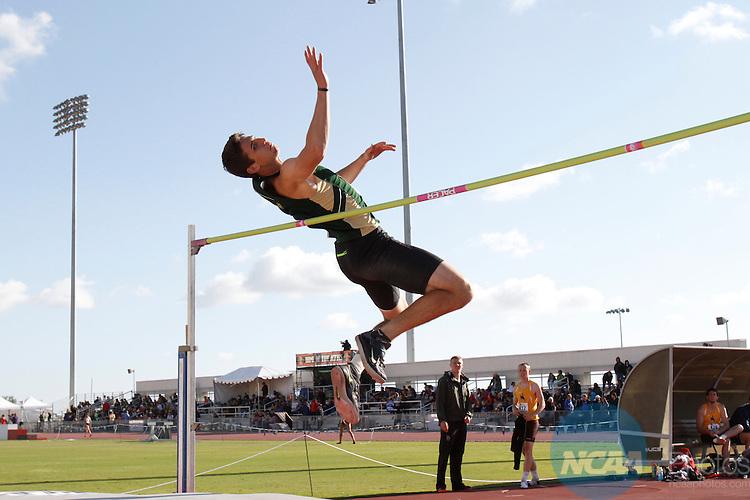 15 MAY 2015: The 2015 Mountain West Outdoor Track and Field Championship held at the San Diego State University Sports Deck in San Diego, CA. Derrick Tuskan/NCAA Photos