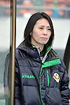 Akemi Noda head coach (Beleza),.APRIL 22, 2012 - Football/Soccer : 2012 Plenus Nadeshiko League,2nd sec match between NTV Beleza 3-0 AS Elfen Sayama FC at Komazawa Olympic Park Stadium, Tokyo, Japan. (Photo by Jun Tsukida/AFLO SPORT) [0003]